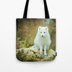 Snow fox Tote Bag