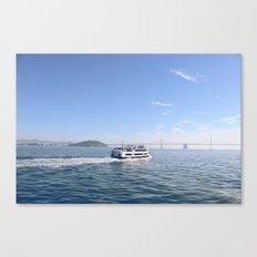 San Francisco. Winter 2013. Canvas Print