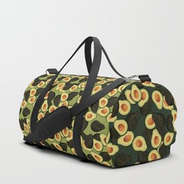 Avocado Pattern Duffle Bag