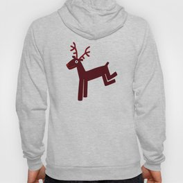 Reindeer-Red Hoody