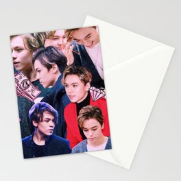Vernon Collage Stationery Cards