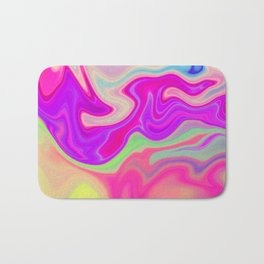 Colored Swirls 05 Bath Mat