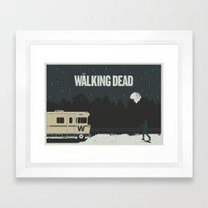 Walking Dead Framed Art Print