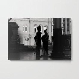 """""""Izando La Bandera"""" Metal Print"""