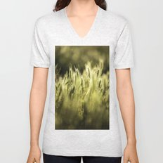Summer Grass Portrait Unisex V-Neck