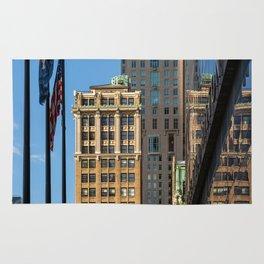 Old Buildings in Lower Manhattan 2018 Rug