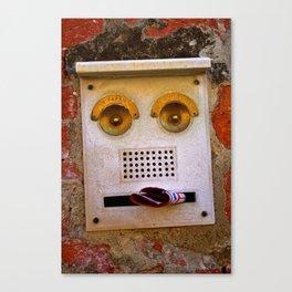 Smile, you are in Venice! Canvas Print