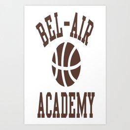 Fresh Prince Bel-Air Academy Basketball Shirt Art Print