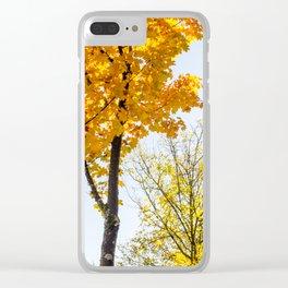 Autumn Feels Clear iPhone Case