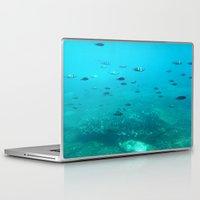 underwater Laptop & iPad Skins featuring Underwater by Shereen Yap