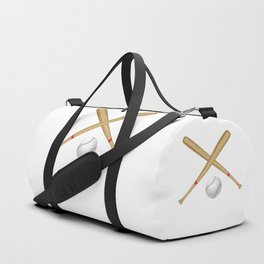 Baseball Bat and Ball Duffle Bag