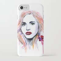 lydia martin iPhone & iPod Cases featuring Lydia Martin by Sterekism
