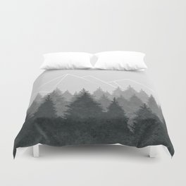 Fading Forests Duvet Cover