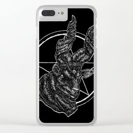 The Black Sheep Clear iPhone Case