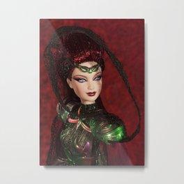 Chica Alienigena Metal Print