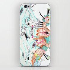 spread them iPhone & iPod Skin