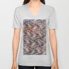 Feather Fashion Pattern  Unisex V-Neck