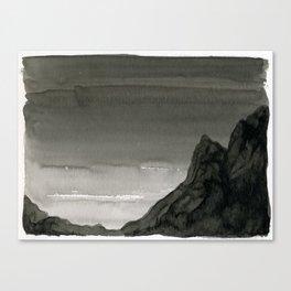 Dawn Over the Mountain Canvas Print