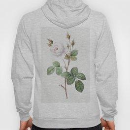 White Moss Rose Hoody
