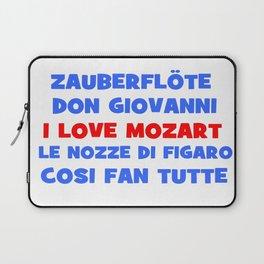 I love Mozart Laptop Sleeve