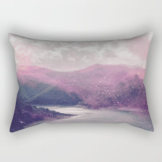 Magical Mountains Rectangular Pillow