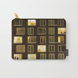 Modern apartment at night Carry-All Pouch