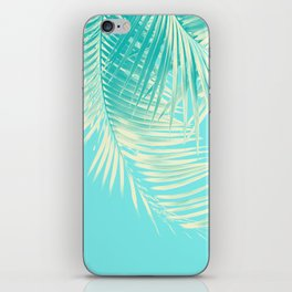 Palm Leaves Summer Vibes #4 #tropical #decor #art #society6 iPhone Skin