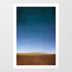 Desert memory Art Print