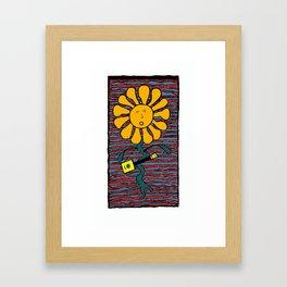 C-box Jammin Framed Art Print