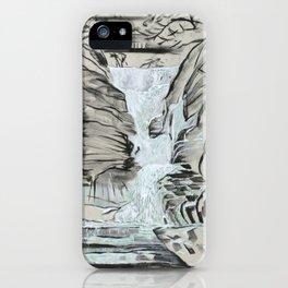 Local Gem # 5 - Lick Brook iPhone Case