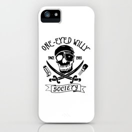 Goonies One Eyed Willy iPhone Case