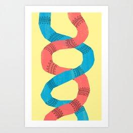 twins. Art Print