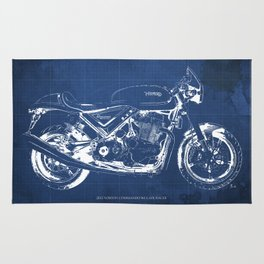 Cafe racer rugs society6 malvernweather Images