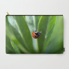 More Macro Ladybug Carry-All Pouch