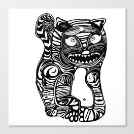 Woah Cat Canvas Print