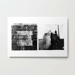 DUPLICITY / 05 Metal Print