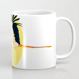 Stork delivering a baby Coffee Mug