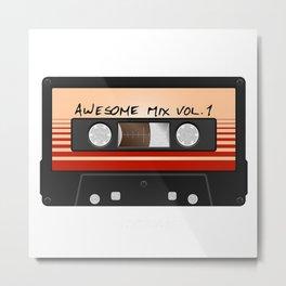 Awesome Mix Vol Metal Print