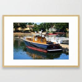 Nopkehee Vessel Framed Art Print