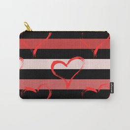 Love heart design Carry-All Pouch
