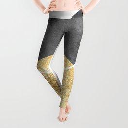 Scandi gold circle Leggings