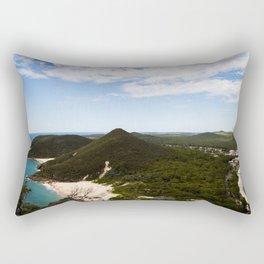 Mount Tomaree Views Rectangular Pillow