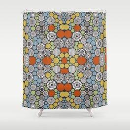 Papir IV Shower Curtain