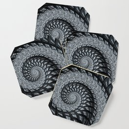 The Daily News - Fractal Art Coaster