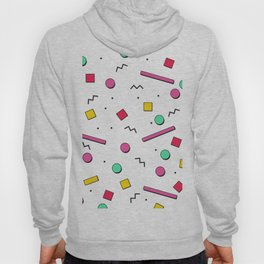 1980s retro pattern Hoody