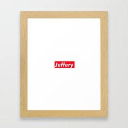 Jeffery Framed Art Print