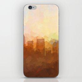 Atlanta, Georgia Skyline - In the Clouds iPhone Skin