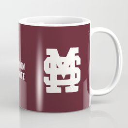 Mississippi Motto (Maroon) Coffee Mug