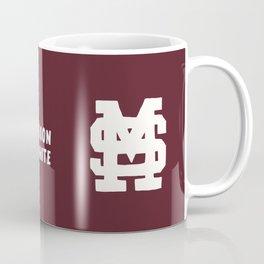 Mississippi Motto (Maroon) Coffee Mug