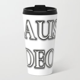 Laus Deo(Praise be to God) Travel Mug